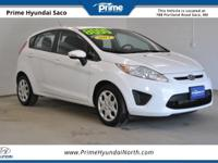 Clean CARFAX! 2013 Ford Fiesta SE in Oxford White! With