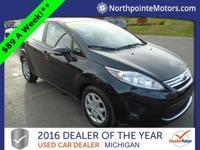 Options:  2013 Ford Fiesta Se|Black|We Finance!