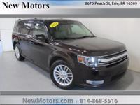 Take command of the road in the 2013 Ford Flex! It