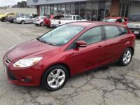 The Ford Focus is a refined compact car inviting you