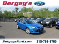 GREAT ON GAS 2013 Ford Focus Titanium HatchbackExt.