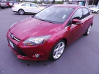 2013 Ford Focus Titanium Hatchback with only 21k miles!