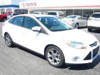Come see this 2013 Ford Focus SE. This Focus comes