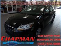 2013 Ford Focus S. You'll NEVER pay too much at Chapman