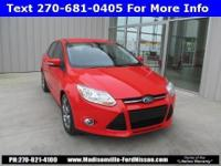 One Owner, Clean CARFAX, Focus SE, 4 cyl 2.0L DGI DOHC,