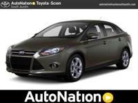 2013 Ford Focus Our Location is: AutoNation Toyota