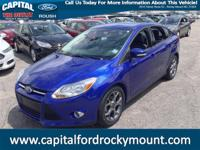 Creampuff! This beautiful 2013 Ford Focus is not going