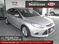 CARFAX 1 owner and buyback guarantee. 2013 Ford Focus
