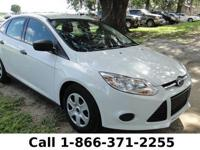 2013 Ford Focus S Features: AM/FM stereo w/CD/MP3 -