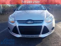 Silver 2013 Ford Focus S FWD 6-Speed Automatic with