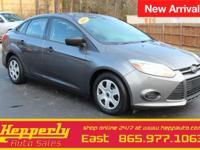 This 2013 Ford Focus S in Sterling Gray Metallic