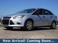 2013 Ford Focus S in Ingot Silver Metallic, This Focus