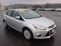 2013 Ford Focus SE in Ingot Silver Hot Options include