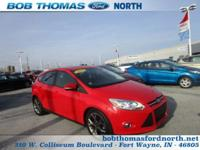 #LEATHER# #MOON ROOF# #BLUE TOOTH# This 2013 Ford Focus