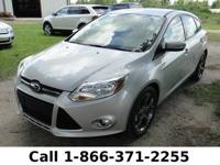 2013 Ford Focus SE Features: Tinted Windows - Leather