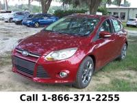 2013 Ford Focus SE Features: Leather Seats -Flex Fuel -