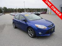 CARFAX One-Owner. Clean CARFAX. Blue 2013 Ford Focus SE