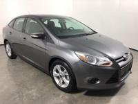 CARFAX One-Owner. Gray 2013 Ford Focus SE FWD 5-Speed