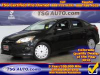 **** JUST IN FOLKS! THIS 2013 FORD FOCUS SE HAS JUST