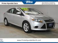 CARFAX One-Owner! 2013 Ford Focus SE in Ingot Silver