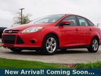 2013 Ford Focus SE in Race Red, This Focus comes with