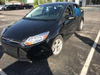 Black 2013 Ford Focus SE FWD 6-Speed Automatic with