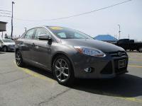 Options:  2013 Ford Focus 4D Sedan Se Gray Fwd 4-Cyl