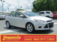 Clean CARFAX. This 2013 Ford Focus SE in Silver