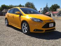You're going to enjoy the 2013 Ford Focus ST! Settle in