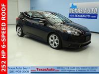 ST-TURBO-252 HP-6 SPEED-ROOF-NAV-SYNC-BLUETOOTH-KEYLESS