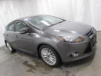 2013 Ford Focus Titanium in Gray... Hurry in!