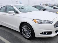 This 2013 Ford Fusion 4dr 4dr Sedan Titanium FWD Sedan