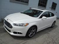 Ford Certified, Fusion Titanium package AWD. Looks and