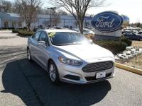ONE OWNER CORPORATE FLEET DRIVEN VEHICLE. 2013 FUSION