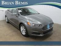 Fusion SE, Ford Certified, Sterling Gray, and Charcoal