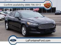 New Arrival! *CarFax One Owner!* This 2013 Ford Fusion