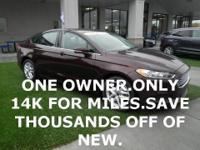 ONE OWNER.........ONLY 14K FOR MILES........REMOTE