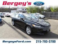 2013 Ford Fusion SE Sedan 4DExt. Color: BlackStock: