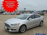 *** FORD FACTORY CERTIFIED PRE-OWNED VEHICLE. WARRANTY
