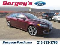 2013 Ford Fusion SE Sedan 4DExt. Color:
