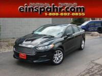 This 2013 Ford Fusion is a beautiful one-owner recent