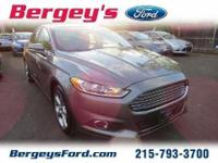 2013 Ford Fusion SE Sedan 4DExt. Color: STERLING