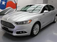 2013 Ford Fusion with 2.0L I4 gas/electric Hybrid