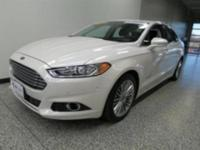 This is a Ford Certified Pre-Owned 2013 Ford Fusion