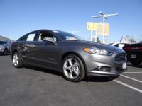 Options:  2013 Ford Fusion Se Hybrid|Sterling Gray/|V4