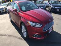 Treat yourself to a test drive in the 2013 Ford Fusion