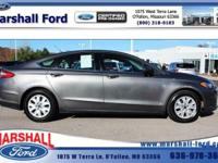 This 2013 Ford Fusion S has less than 56k miles. One of