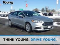 2013 Ford Fusion S. 6-Speed Automatic. Sticks to the