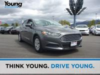 2013 Ford Fusion S. 6-Speed Automatic. Stability and