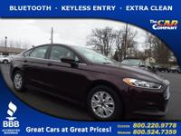 Used 2013 Ford Fusion, DESIRABLE FEATURES: BLUETOOTH,